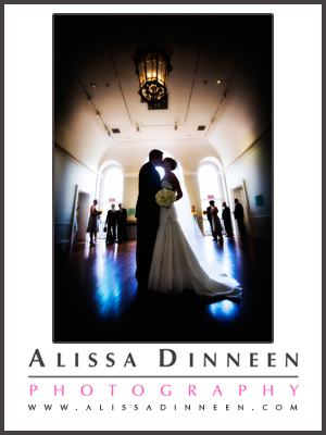 Alissa Dinneen Photography: Old State House Hartford, CT Wedding
