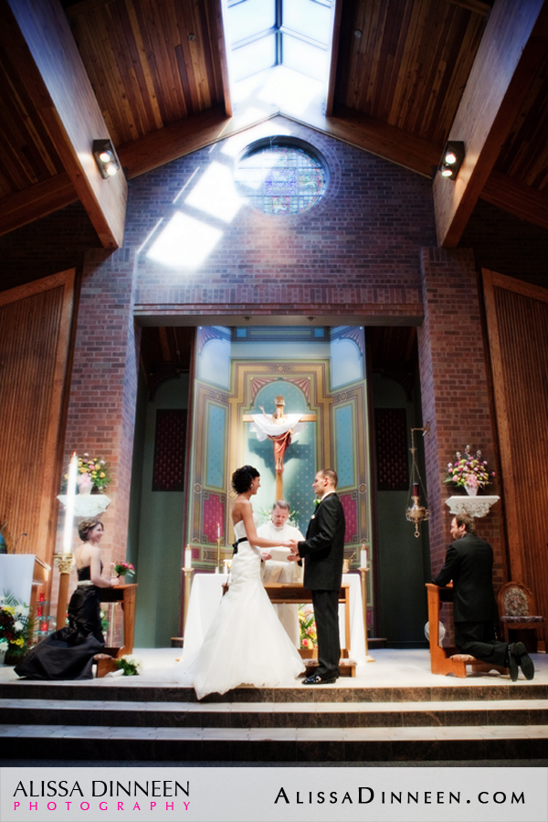 St Matthews Church Bristol CT Wedding